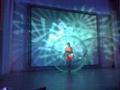 Inflatable human dance ball for event and exhbition display