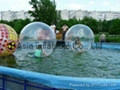 Hot sale inflatable aqua ball with water pool