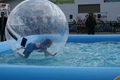 Hot sale inflatable water pool games, inflatable water walking ball games