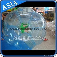 Transprent inflatable bumper ball ball for grassland games