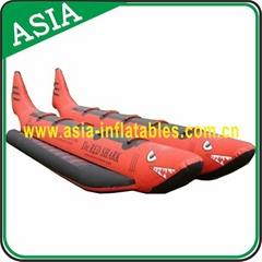 Dual Tube Inflatable Shark Boat