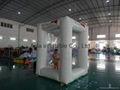 Inflatable cash cube, inflatable money machine for advertising