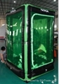 Show Display Inflatable Money Booth ,Cash Cube