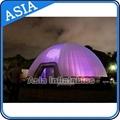 Inflatable lighting igloo dome