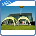 Inflatable spider dome tent advertising