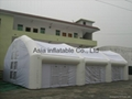 Big marquee tent for wedding