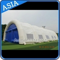 Outdoor huge white hexagon inflatable