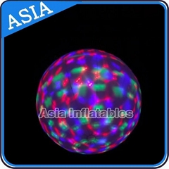 colourful inflatable balloon with LED light for party/event/holiday decoration