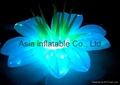 Led inflatable flower wedding party