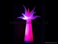 Color Changeable Inflatable Palm Tree