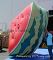 Inflatable product balloon, 4m Watermelon