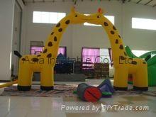 4m high inflatable giraf