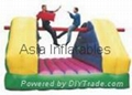 China Inflatable Sport-Pillow Bash /outdoor games
