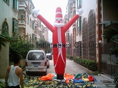 Inflatable Santa Claus Air Dancer for Christmas decoration