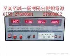 1KVA变频电源SPS6010N