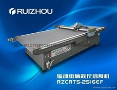 Soft glass cutting machine, PVC plastic table mat cutting machine