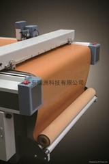 瑞洲科技-自動送紙服裝樣板切割機 鞋樣方格機