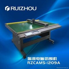 瑞洲樣板切割機(靜電吸附)粘膠平板切割機