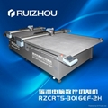 Car trunk mat cutting machine, cutting
