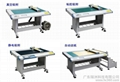 PVC compound leather cutting machine, lighting proofing cutting machine
