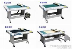 皮革切割机 纸样打版机 下料机 瑞洲科技