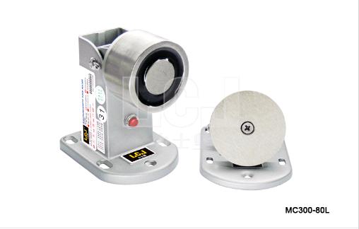 供應力士堅電鎖電磁門吸60kg帶鎖狀態MC300-80L 1