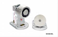 供應力士堅電鎖電磁門吸60kg帶鎖狀態MC300-80L