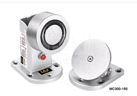 供應力士堅電鎖電磁門吸120kgMC300-150電磁釋放器 1
