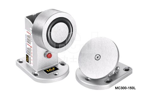 供應力士堅電鎖電磁門吸120kg帶鎖狀態MC300-150L 1