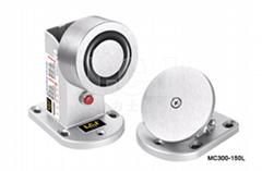 供應力士堅電鎖電磁門吸120kg帶鎖狀態MC300-150L