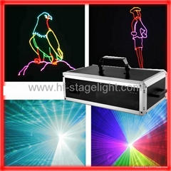 3/5w RGB full color laser light