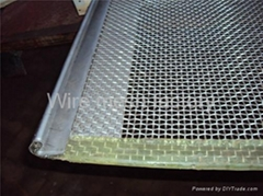 SS crimped wire mesh (wo