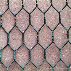 PVC堤坡防护用石笼网