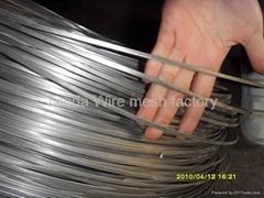 flat stitching wire, flat steel wire,