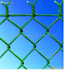 chain link fence(diamond wire mesh)