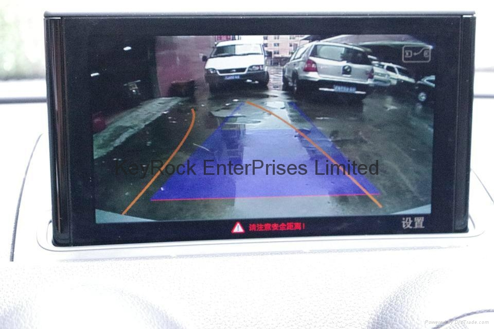 Audi A3 Reverse Camera Retrofit 1
