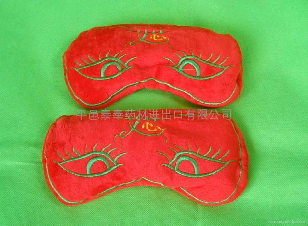 Bags of leaves treated moxibustion for Protect eyes