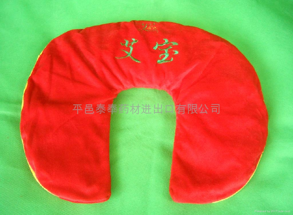 Bags of leaves treated moxibustion for Protect shoulder