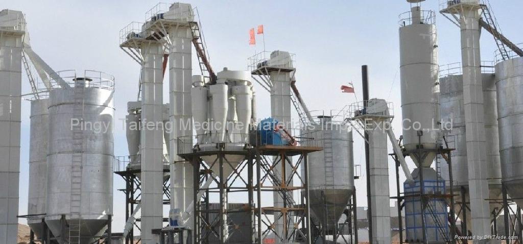 中国产石膏粉 2