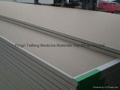 standard high quality factory price gypsum board plasterboard