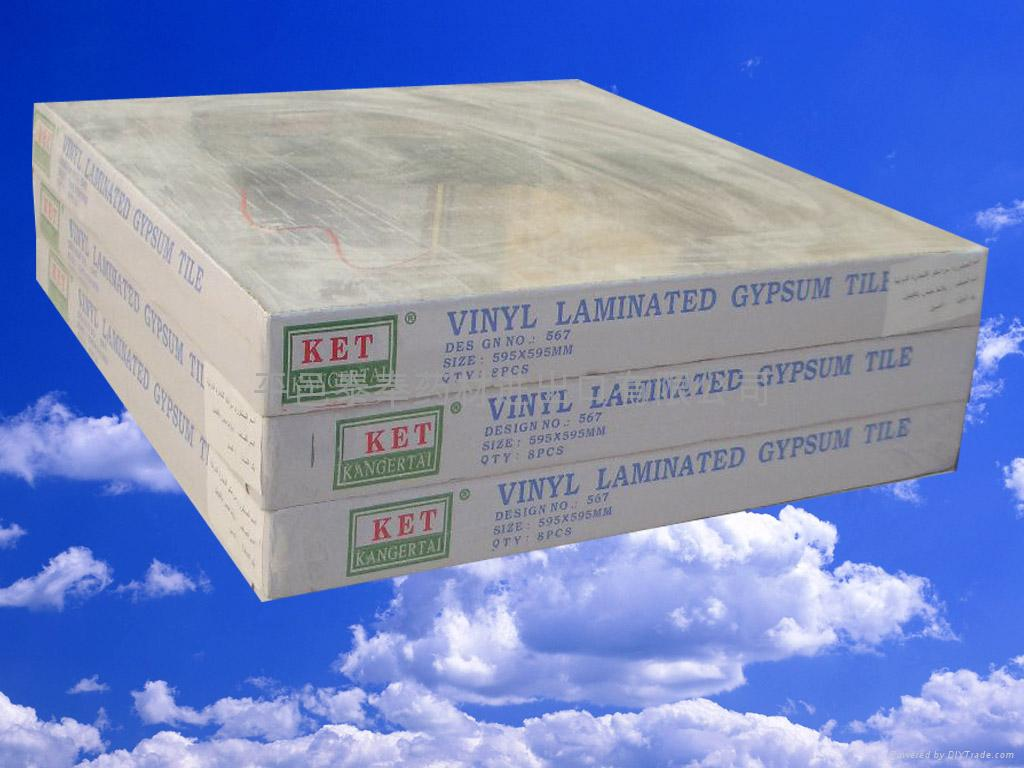 PVC  Gypsum  Ceiling Board 2
