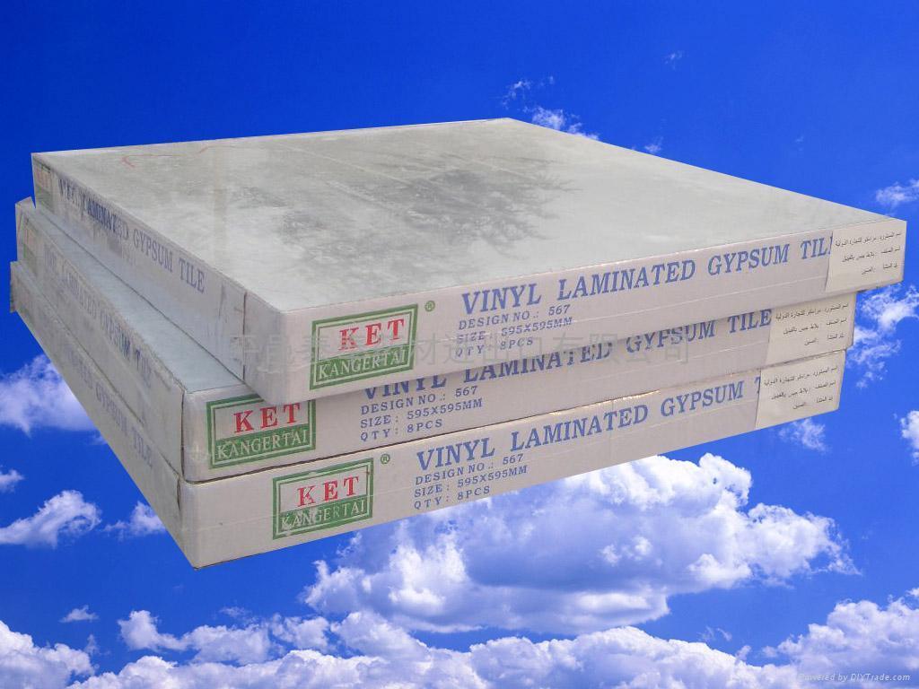 Vinyl laminated gypsum board  2