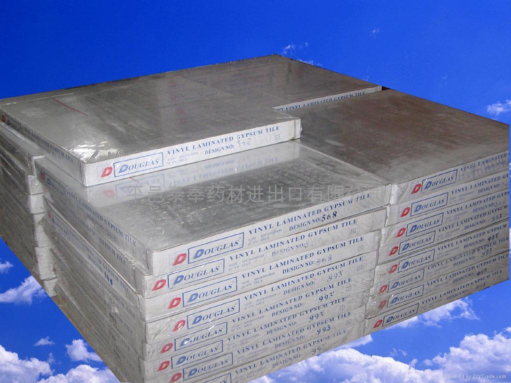 Vinyl laminated gypsum board  3