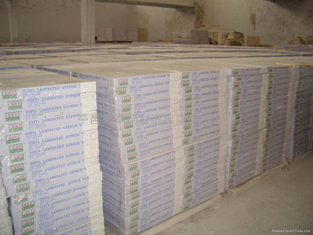 Vinyl laminated gypsum board  4