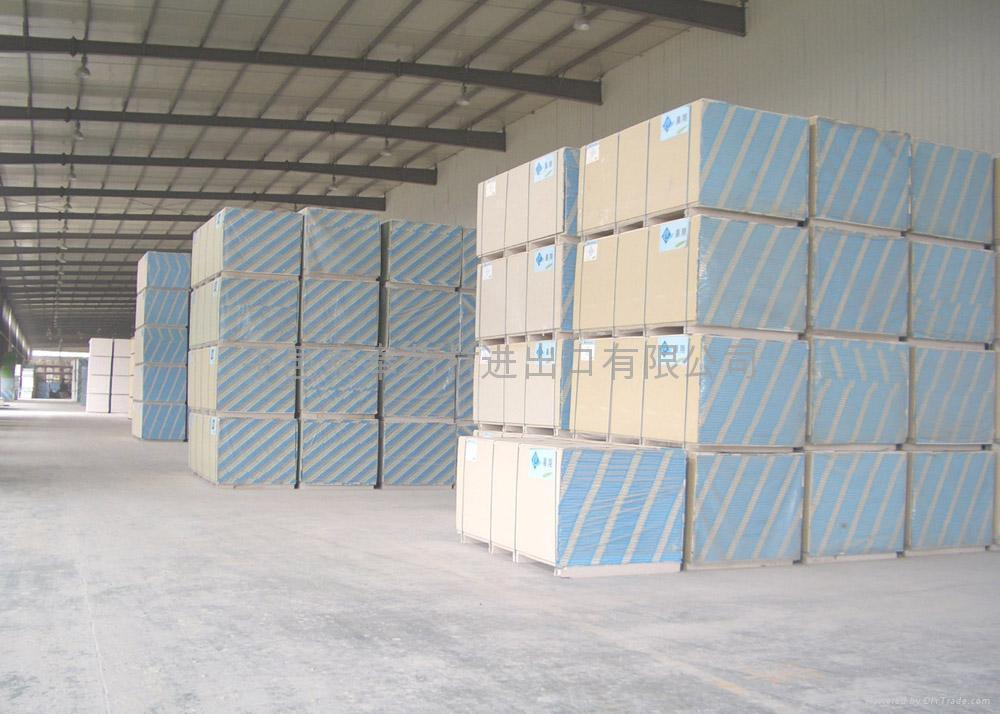 Gypsum board 纸面石膏板 ket china trading company other