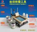 北京製版,絲網印廠