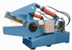 鋼觔剪切機 鋁錠剪切機 廢品切斷機