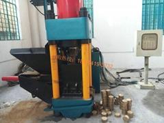 生铁屑压块机  铜屑压饼机