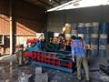 铁刨花打包机 彩钢瓦打包机 3