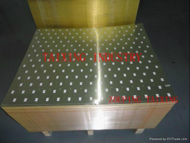 aluminium sheet (8011 h14) for pilfer proof caps  1